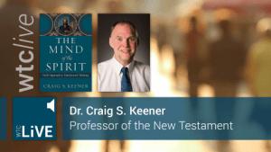 Craig Keener Posterframe WTCLive!