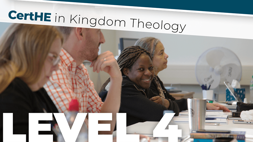 CertHE in Kingdom Theology